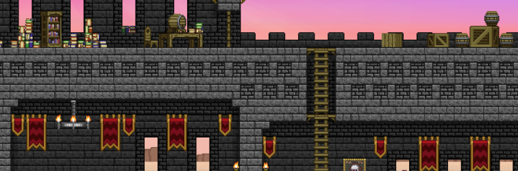 A Glitch Castle