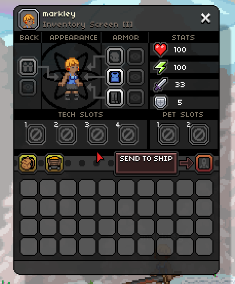 starbound pet slots