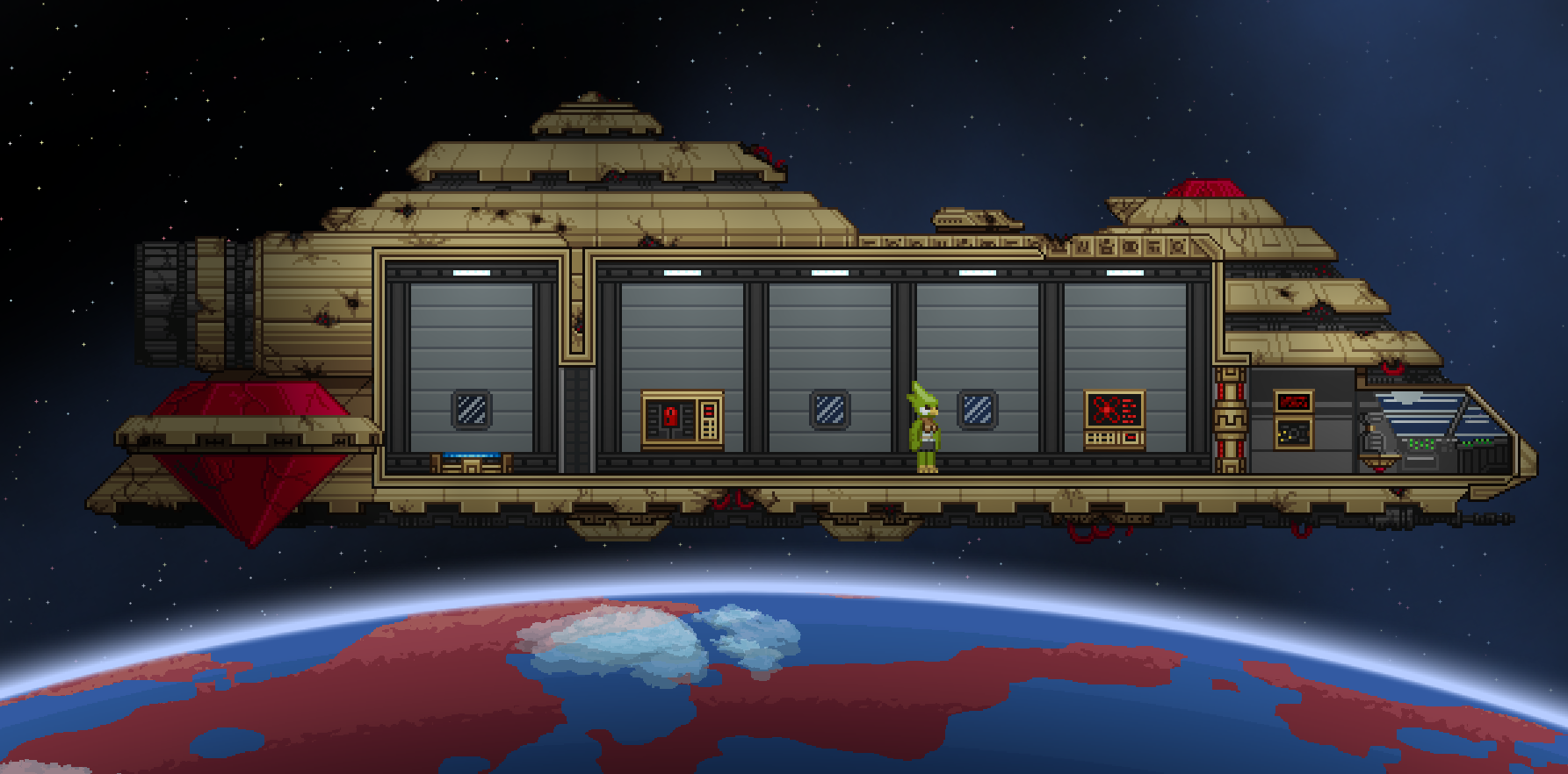 Starbound Details Changes To Combat New Monsters Ship