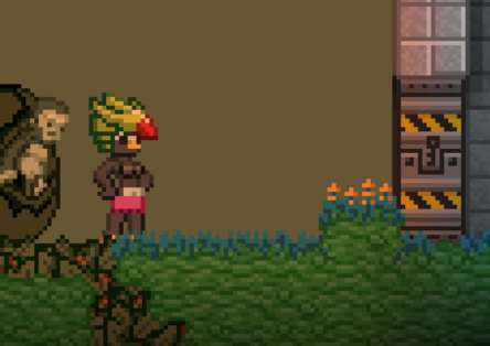 starbound how to return to outpost