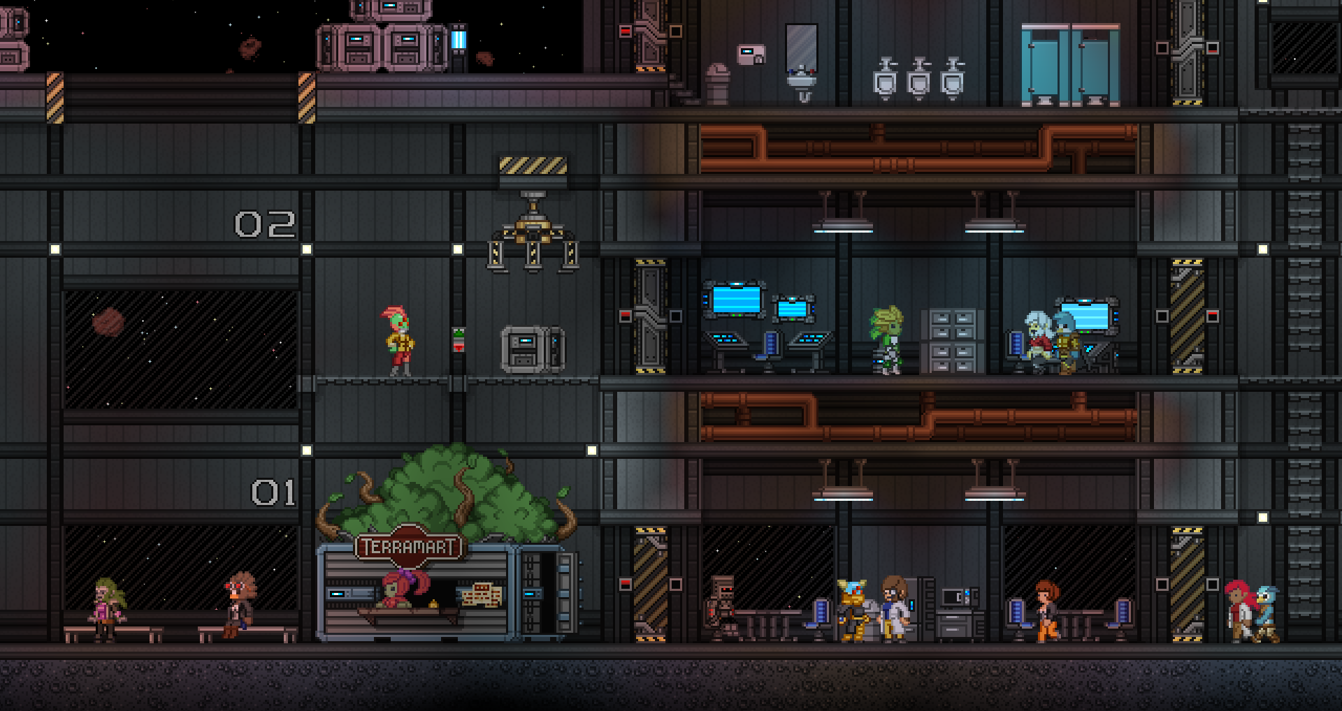 guesses about the lore of the protectorate starbound