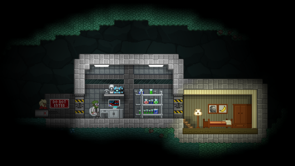 A single scientist, deep underground?