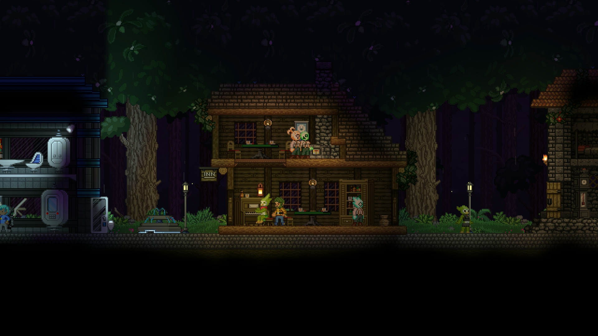 how to travel in starbound