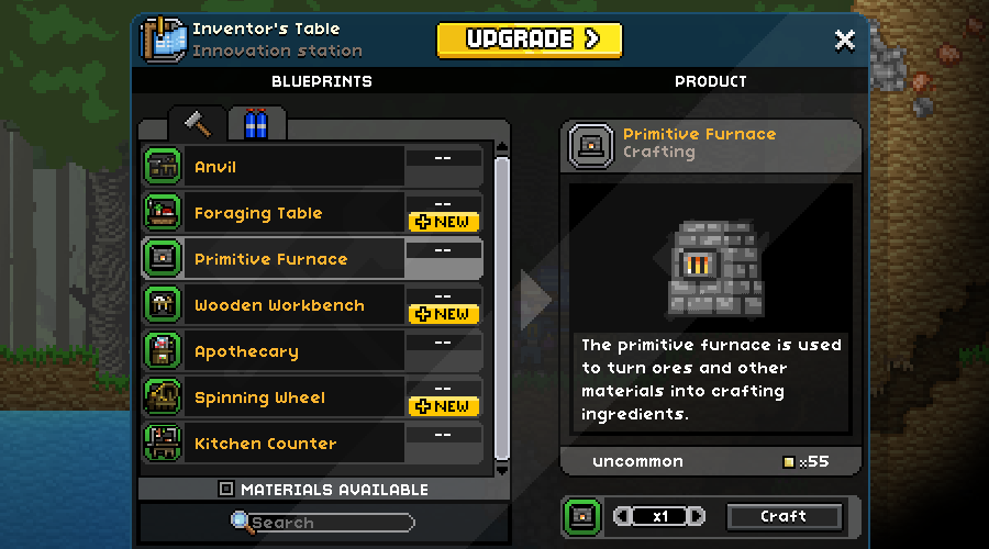Crafting Tables Starbound