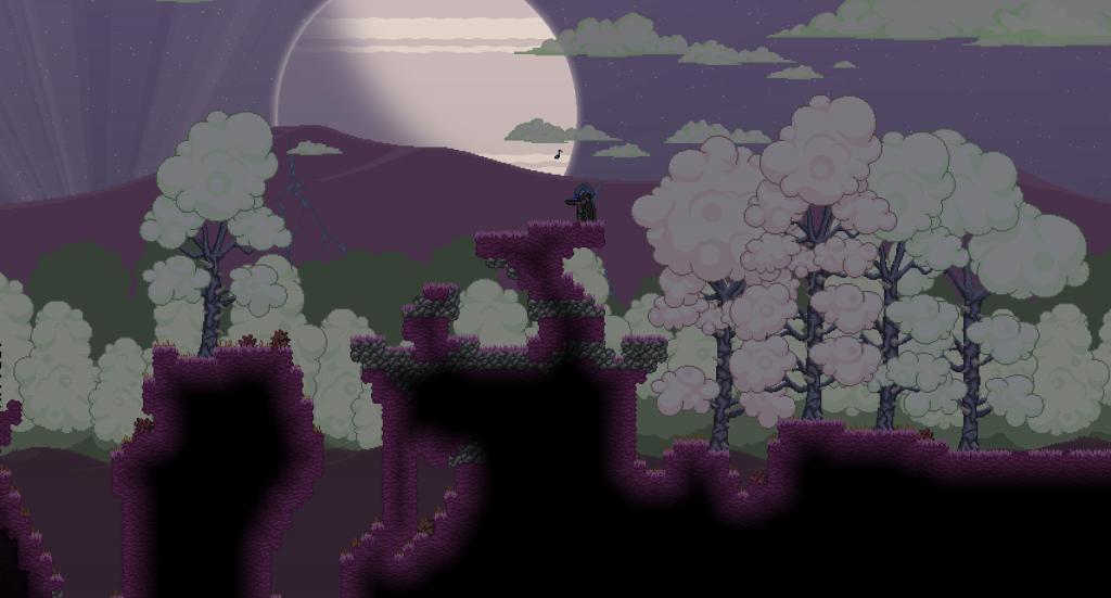 Ocarina by moonlight!
