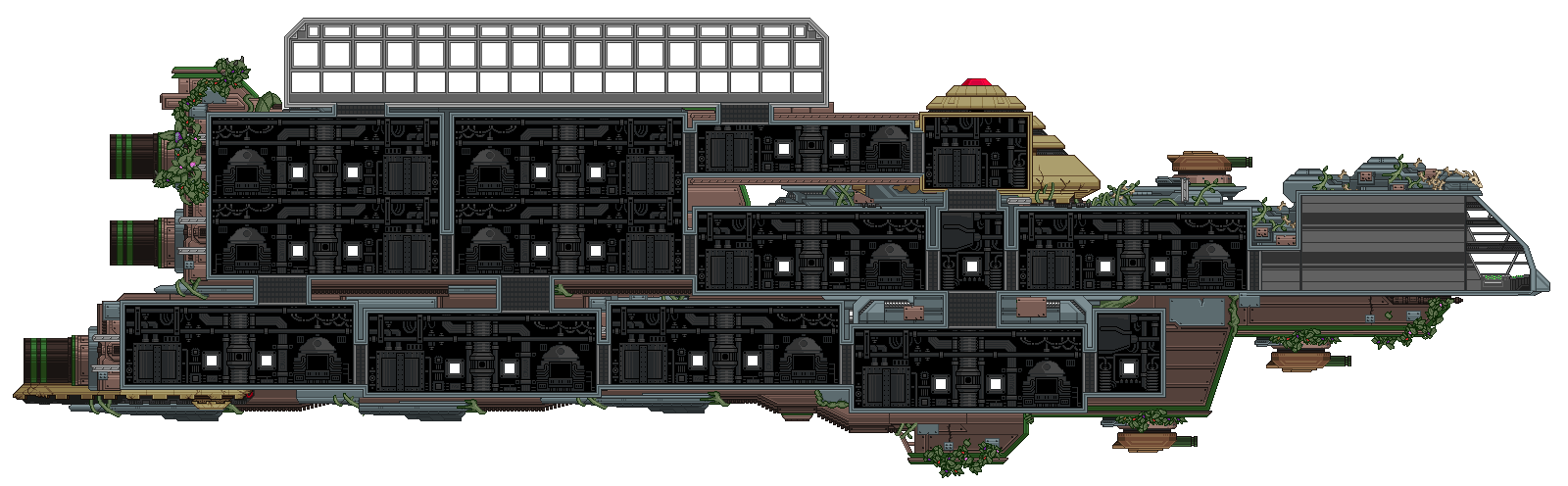 Starbound - Progress on Ships!