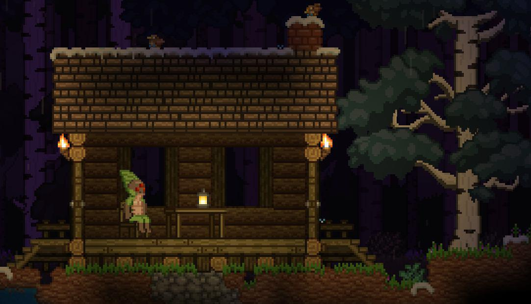 Starbound 25th June Cabin In The Woods